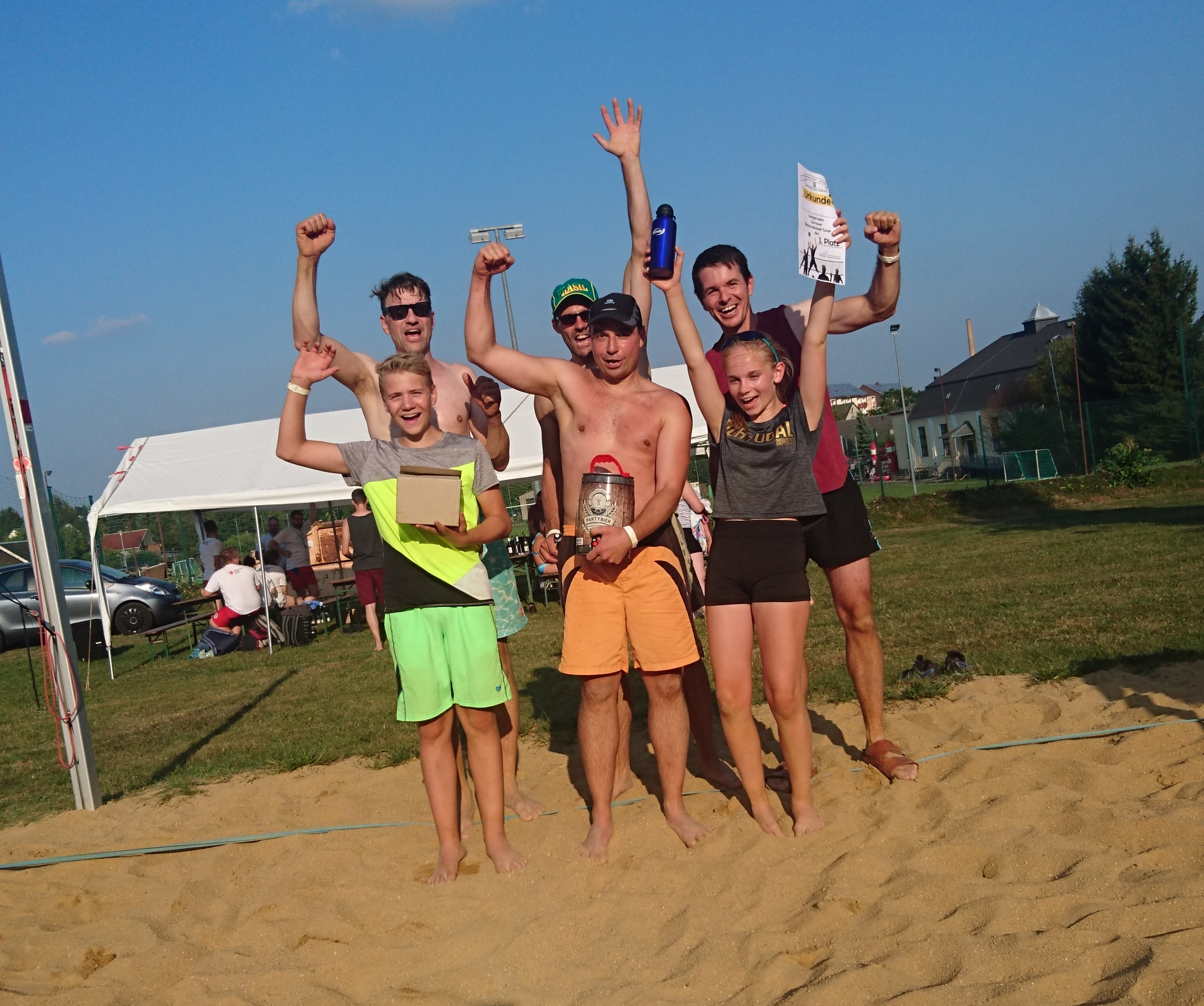Victory in last tournament in the Freibad Gornau